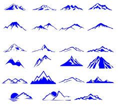 Image result for vertical mountain range tattoo
