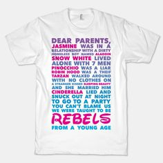 Taught To Be Rebels | HUMAN | T-Shirts, Tanks, Sweatshirts and Hoodies