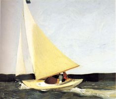 ovadiaandsons:    Edward Hopper, Sailing, 1911, oil on canvas.