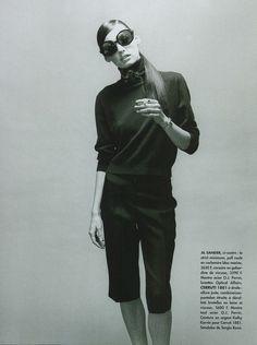 "80s-90s-supermodels:  ""Portez-Le"", L'Officiel France, May 1996Photographer: HiromasaModel: Avalon Hodges"
