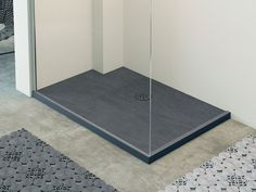 RAZOR Piatto doccia rettangolare Collezione Showering by Glass 1989