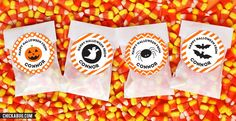 Personalized Halloween Stickers & Candy Bags! | Jane