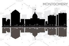#Montgomery #City #skyline by Igor Sorokin on @creativemarket