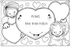 Dia das Mães para Colorir: 35 Atividades de Educação Infantil Picts, Great Pictures, Happy Mothers Day, Coloring Pages, Alphabet, Crafts For Kids, Snoopy, Drama, Preschool