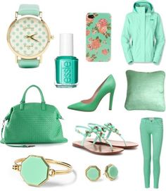 Mint Green Love {Get these looks on DailyKaty.com}