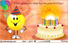 E-card sent by my bro Akshit Sabahrwal !! Got it 11 days after my birthday but really loving it :)