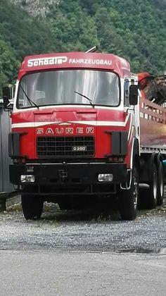 Saurer Old Trucks, Fiat, Europe, Vehicles, Vintage, Bern, Trucks, Event Posters, Swiss Guard