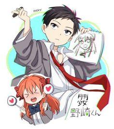 grafika anime, nozaki, and gekkan shoujo nozaki kun