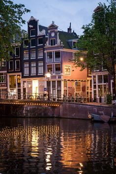 Amsterdam, Holland. I love this edge of the day and it's light