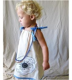 linen peony dress. pretty!!! $41 via etsy