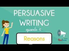 Persuasive Writing for Kids: What is It? Episode What does it mean to persuade or convince someone of my opinion? Who can I persuade? Watch this video to find out the basics of persuasive writing! What Is Persuasive Writing, Persuasive Letter, Opinion Writing, Persuasive Texts, Essay Writing, Argumentative Writing, Informational Writing, Writing Prompts, Writing Rubrics