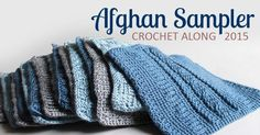 It's Square 9 of 10 (September) of the 2015 Afghan Sampler -- Crochet Cables! Crochet along to make a contemporary afghan sampler over the course of one year -- have a finished blanket in time for Christmas giving.