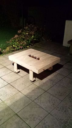 #CandleHolder, #PalletCoffeeTable, #RecyclingWoodPallets