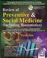 (Old) Review Of Preventive & Social Medicine (Including Biostatistics) Free Dvd-Rom Paperback ? 2014