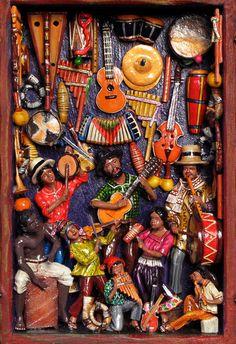Indigo Arts Gallery | Peruvian Folk Art | Retablos