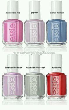 """Essie 2013 spring """"love"""""""