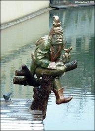 Vodnik Creature | ... Kampa Island (Prague) - Epic Beings and Creatures on Waymarking.com