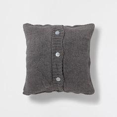 CABLE STITCH KNIT CUSHION - Cushions - Decoration | Zara Home Turkey