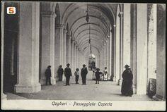 Cagliari, Bastione S. Remy passeggiata coperta