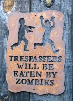 . Just click the IMAGE to see more Zombie Signs on Sale