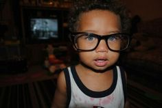 Nerd mixed with cuteness