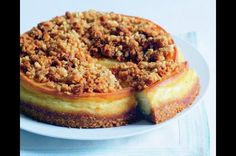 Cheesecake s ořechovou posypkou Cheesecakes, Tarts, Tiramisu, Sweet Tooth, Ethnic Recipes, Food, Mince Pies, Pies, Cheese Pies