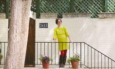 Naomi in the Hazel Dress http://moreofmematernity.com