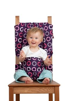Teenie Weenies: Tot Seat - the portable baby highchair