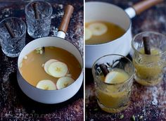 Omenaglögi Mulled Apple Cider, Fondue, Glass Of Milk, Cheese, Drinks, Ethnic Recipes, Blog, Beverages, Drink