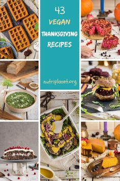 It's the time of the year when everyone is looking for vegan Thanksgiving recipes that would please the whole family. Choose between 42 delicious gluten-free Thanksgiving recipes including appetizers, main dishes, sides, and desserts. Traditional Thanksgiving Recipes, Gluten Free Thanksgiving, Thanksgiving Appetizers, Thanksgiving Stuffing, Thanksgiving Side Dishes, Gluten Free Appetizers, Appetizer Recipes, Appetizers For Party, Snack Recipes