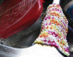 Simple dishcloth