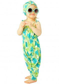 Baby leaf romper - $44