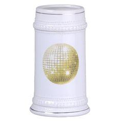 Gold Disoc Balls For Christmas Time Mugs