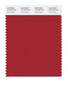 Amazon.com: Pantone 19-1758 TCX Smart Color Swatch Card, Haute Red: Home Improvement. Scarlet Sage.