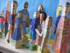Teaching Shakespeare to kids - not just the literature, either. There are art pieces and lots more!