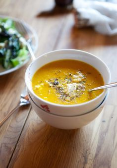 Roasted Carrot Soup with Cumin and Citrus