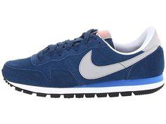 half off f53d0 01f30 Nike Air Pegasus 83 Leather Heren Sneakers Dappere Blauw Prijs Blauwe Atoom  Roze Zilver,Latest