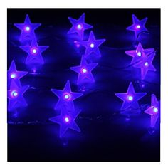 CandanceTMNewest Design blue indoors or outdoors 30 Star Novelty Lights Battery Operated Fairy String 30 for Indoor Room Outdoor Party Christmas decorationLED Battery Operated Fairy String Lights Party Holiday Home BedroomDining RoomLiving roombirthday partyNew YearbarCoffee shop Use decorationdecorative KTV decorationBattery Operated LED String Lights for nursery roomgarden partyfencepatio decoration blue *** You can find out more details at the link of the image.
