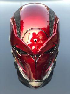 Red Hood Shadowdazer V7 HQ Resin Helmet Swiftable | Etsy Dc Comics, Helmet Design, Mask Design, Ski Mask, Lazarus Pit, Cool Motorcycle Helmets, Nerf Toys, Knights Helmet, Cool Masks