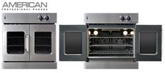 French Door Ovens (double door/ side door ovens) make it easier to put in and take stuff out of oven.