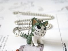#DIY #Necklace #Jewelry #Cute #geek_chic #GreenC #lolita #Manga #Anime #Comic…