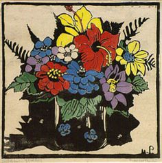 Prints & Graphics - Margaret Rose (MacPherson) Preston - Page 5 - Australian Art Auction Records Margaret Preston, Margaret Rose, Australian Painters, Australian Artists, Australian Flowers, National Art, Art Auction, Botanical Illustration, Art Tutorials