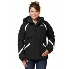 The North Face Kira Triclimate Jacket - Women's Tnf Black, L by The North Face. $202.97. Black. Good things come in threes--especially when you're watching your winter recreation budget. The North Face Women's Kira Triclimate features a rugged waterproof and breathable outer shell jacket with a zip-out insulating inner liner. Depending on weather conditions, you can wear the Kira Triclimate as a shell, an insulated jacket or a lightweight and breathable zip-out in...