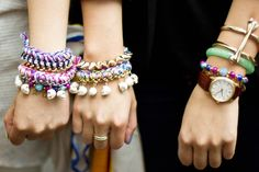 17 Cool Ways to Stack your Bracelets