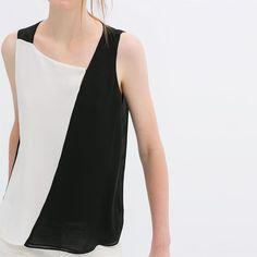 Patchwork Geometry Color Block Shirt