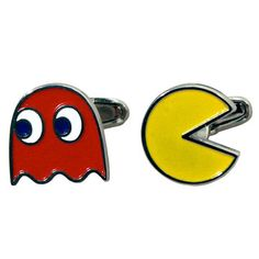 Pac-Man Cufflinks by Paladone