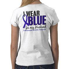 blue is for rheumatoid arthritis