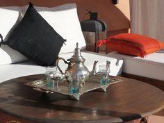 Riad Matham Le Riad, Moroccan Interiors, Around The Corner, Kitchen Appliances, Home, Diy Kitchen Appliances, Home Appliances, Ad Home, Homes