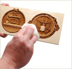 Easily Remove Engraving Residue from Wood