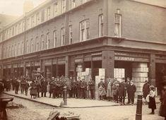 1 / 2  · Spitalfields Market, London   photograph 1912   © Tower Hamlets Local History Library London History, Local History, Family History, London Pictures, London Photos, Vintage London, Old London, Tower Hamlets, London Market